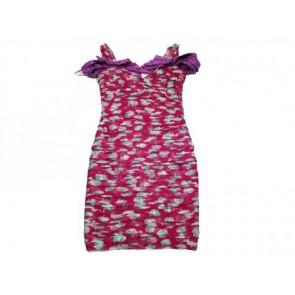 Louis Vuitton Purple Midi Dress