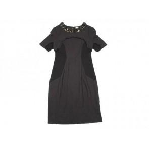 Matthew Williamson Black Midi Dress