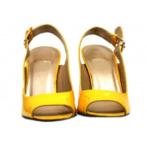 Stuart Weitzman Yellow Sandals