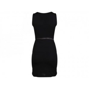 T by Alexander Wang Black Midi Dress