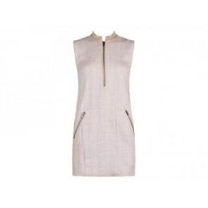 TheoryX Cream Midi Dress