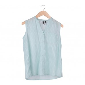 Mango Blue Sleeveless