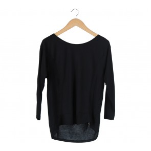 Zara Black Basic T-Shirt