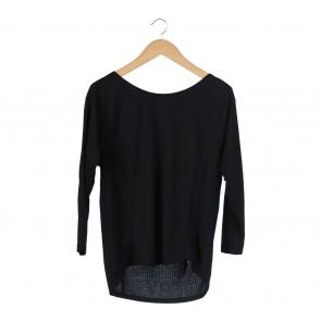 Zara Black Basic T-Shirt