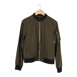 Zara Dark Green Jaket