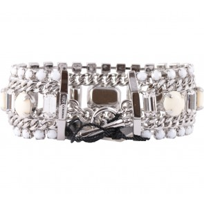 Juicy Couture White And Silver Jewellery