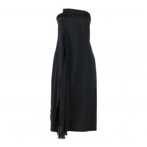 BCBG Black Sleeveless Midi Dress