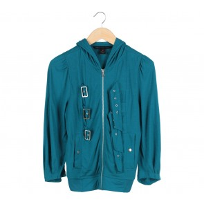 Marc Jacobs Blue Belted Blouse