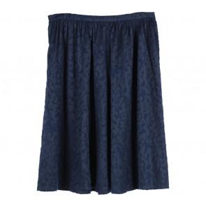 Forever 21 Blue Textured Midi Skirt