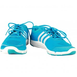 Adidas Blue And White Adipure Sneakers