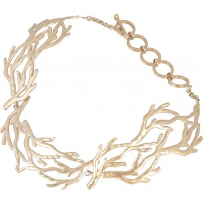 Tulola  Banyan Choker Gold Dip Jewellery