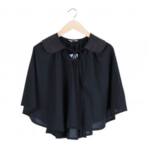 Argyle Oxford Black Velvet Collar Cape Others