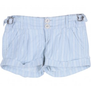 Guess Blue Striped Shorts Pants