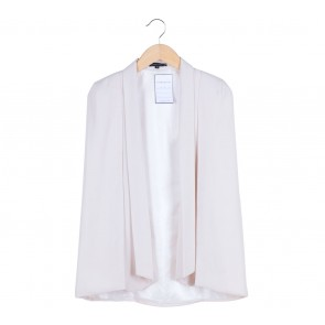 Look Boutique Cream Cape Blazer