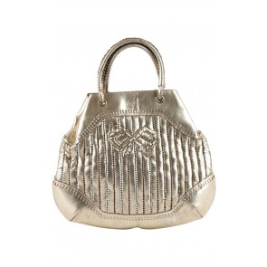 Anya Hindmarch Gold Hand Bag
