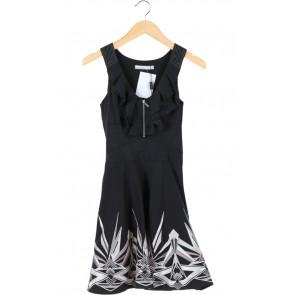 Black Silver Trim Dress