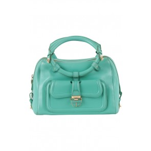 Jimmy Choo Teal Satchel Bag