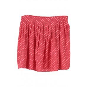 Pink Polkadot Skirt