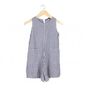 Zara Multi Colour Striped Jumpsuit
