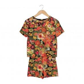 Zara Multi Colour Floral Jumpsuit