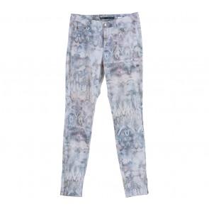 Zara Blue Snake Skin Denim  Pants