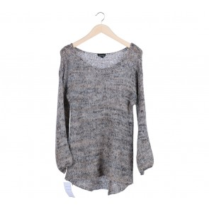 Topshop Brown Knitted Sweater