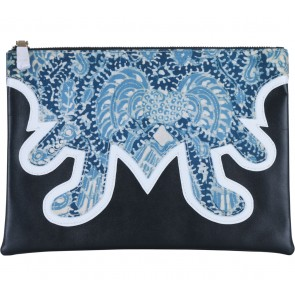 Epitomi Black Batik Clutch