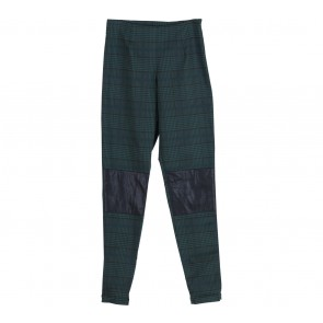 Tensca Green Houndstooth Pants