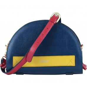 Meraki Goods Blue Halvo Clutch