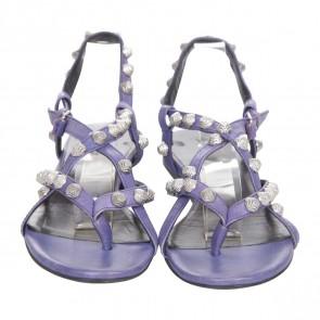 Balenciaga Purple Sandals