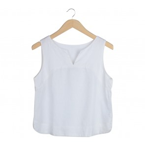Biasa Off White Sleeveless