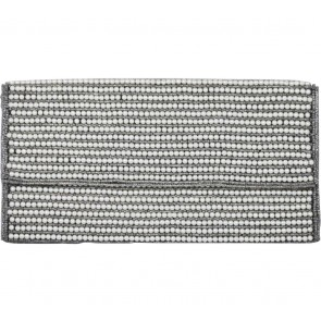 Forever 21 Off White Pearl Clutch