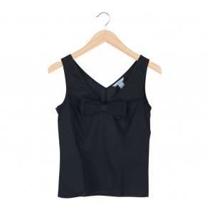 H&M Black Ribbon Sleeveless