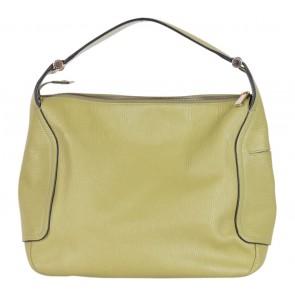 Furla Green Textured Handbag