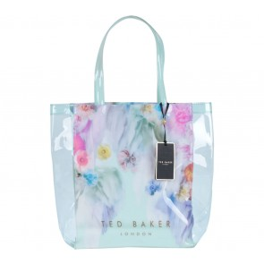 Ted Baker Green Tosca Floral Jelly Tote Bag