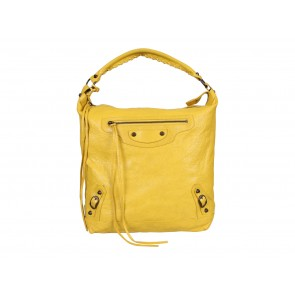 Balenciaga Yellow Classic Day Shoulder Bag