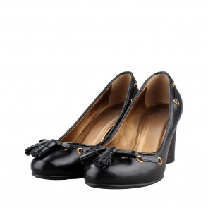 Bally Black Pump Heels