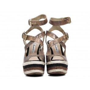 Brian Atwood Brown Wedges