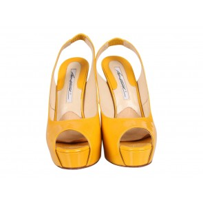 Brian Atwood Yellow Heels