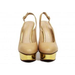 Charlotte Olympia Nude Heels