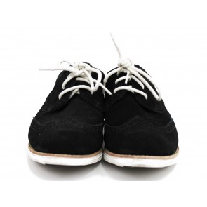 Cole Haan Nike Air Black Suede Sneakers