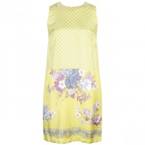 Etro Profumi Yellow Midi Dress