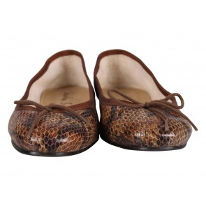 London Sole Brown Flats