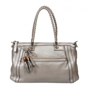 Gucci Silver Tassle Bella Shoulder Bag