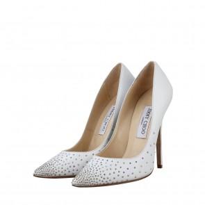 Jimmy Choo White Heels