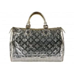 Louis Vuitton Silver Tote Bag