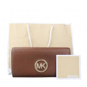 Michael Kors Brown Fulton Carryall Wallet