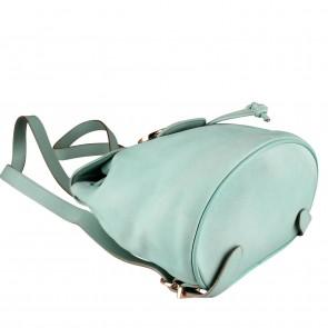 Salvatore Ferragamo Green Backpack