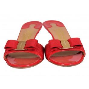 Salvatore Ferragamo Red Sandals