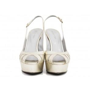Sergio Rossi Silver Sandals